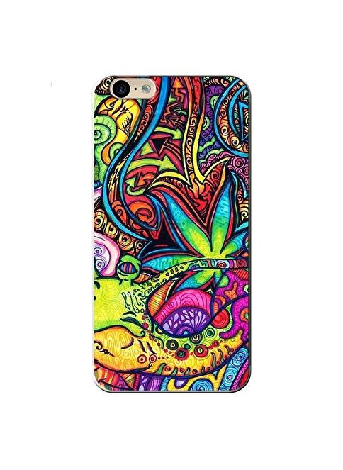 People's Cover iPhone 6/6S Kabartmalı Telefon Kılıfı Renkli